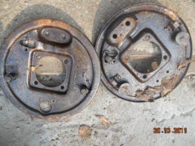 Щит заднего тормоза (левый — правый) в сборе (ОРИГИНАЛ)