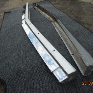 Накладка декоративная облицовки радиатора нижняя в сборе