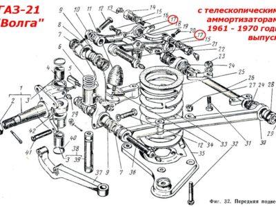 Рычаги передней подвески верхние (ОРИГИНАЛ)
