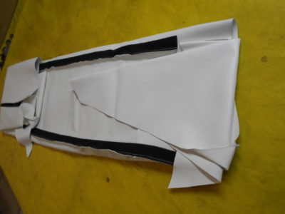 Обшивка потолка раскроенная и сшитая 3 модель