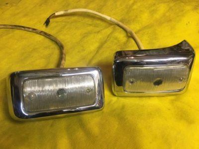 Подфарники передние в сборе 2 модель