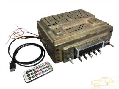 """Магнитола с современной """"начинкой"""" FM/AM, USB, Bluetooth. ГАЗ-21"""