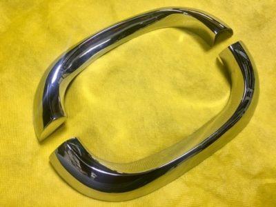 Накладка декоративная переднего крыла правая/левая (ОРИГИНАЛ)
