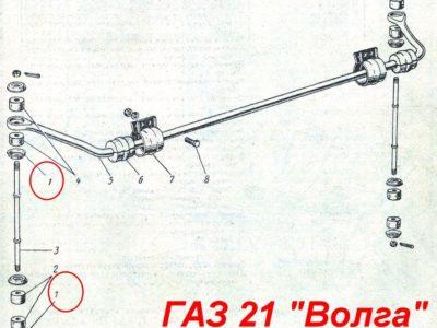 Шайба стойки стабилизатора 11-18077