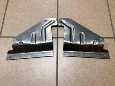 Пластина крепления фартука ГАЗ-21 3модель
