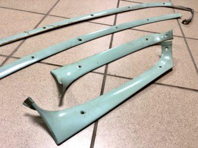 Комплект рамок лобового стекла ГАЗ-21 (ОРИГИНАЛ)