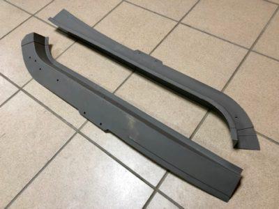 Лонжерон задний правый-левый ГАЗ-21