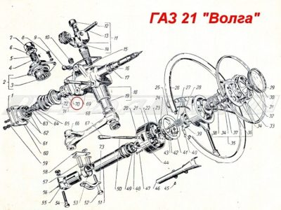 Подшипник червяка рулевого управления ГПЗ 977907 (ОРИГИНАЛ)