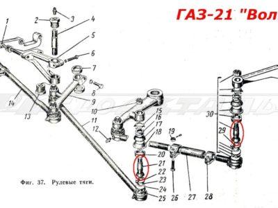 Палец  рулевой тяги (ОРИГИНАЛ)