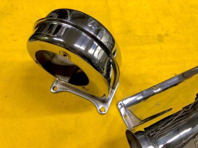 Корпус вентилятора +кожух радиатора отопителя (ОРИГИНАЛ)