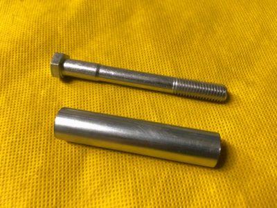 Болт М10х90 +втулка крепления радиатора