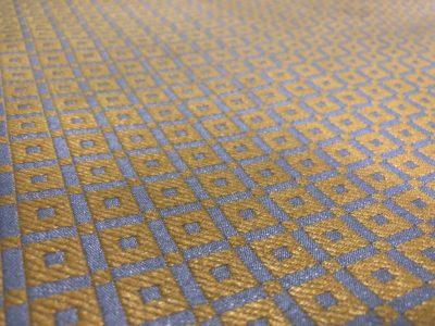 Ткань обшивки салона ГАЗ 21 Золото темн. «квадрат»