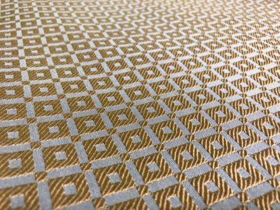 Ткань обшивки салона ГАЗ 21 Золото светл. «квадрат»