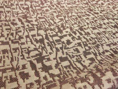 Ткань обшивки салона ГАЗ 21 Розовый «абстракция»