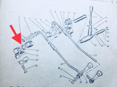 Набор шайб для устранения люфтов в приводе КПП