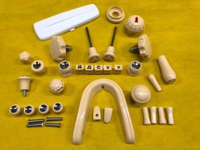 Комплект пластика салона 3 модель
