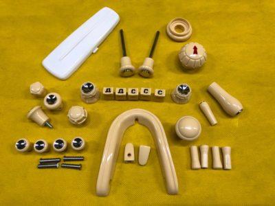 Комплект пластика салона 1/2 модель #2