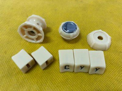Ручки и кнопки приемника (комплект) 3 модель