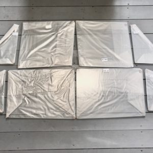 Боковые стекла газ 21 комплект