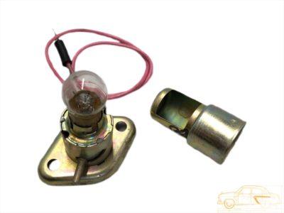 Подкапотная лампа ПД1-Ж в сборе ГАЗ-69 (ОРИГИНАЛ)