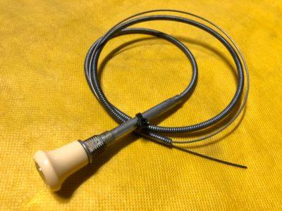 Ручка ручного газа в сборе с тросом