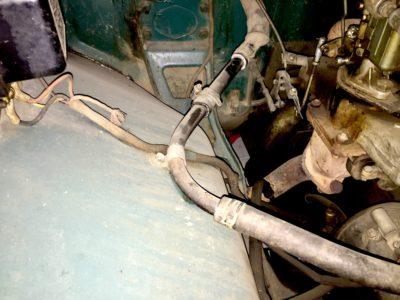 Труба выпускная отопителя ГАЗ-21