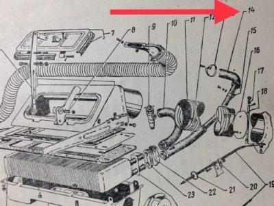 Труба выпускная отопителя ГАЗ-12