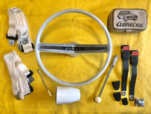 Комплект элементов салона белого цвета ГАЗ-24