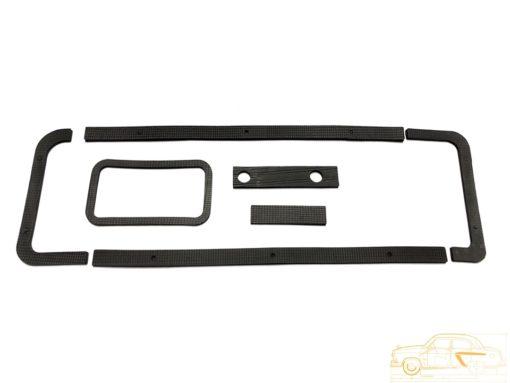 Комплект прокладок кожуха радиатора отопителя ГАЗ-21к-кт