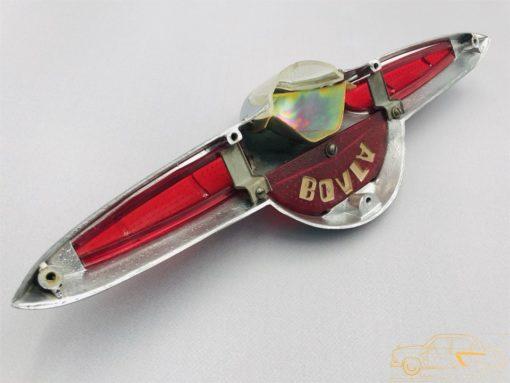 Фонарь освещения номерного знака в сборе ГАЗ-21 1 мод. (ОРИГИНАЛ/ПЕРЕХРОМ) (Копировать)