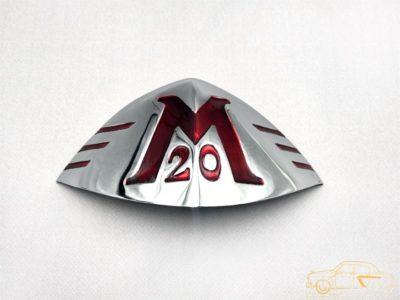 Орнамент облицовки радиатора М 20 3 модель (ОРИГИНАЛ)