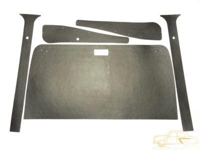 Комплект картона салона автомобиля ГАЗ М-20