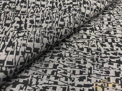 """Ткань обшивки салона ГАЗ 21 Черный """"абстракция"""" 68-70г.в."""