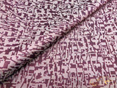 """Ткань обшивки салона ГАЗ 21 Розовый """"абстракция"""" 68-70г.в."""