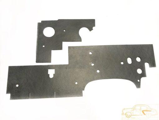 Картон обшивки моторного щита ГАЗ-24
